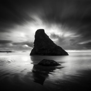 Bandon II by Nathan Wirth a slice of silence - The Great Highway Gallery