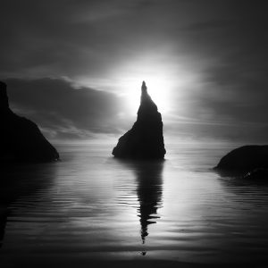 Bandon I by Nathan Wirth a slice of silence - The Great Highway Gallery