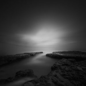 silence & light III by Nathan Wirth a slice of silence - The Great Highway Gallery