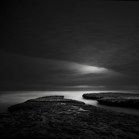 silence & light VI by Nathan Wirth a slice of silence - The Great Highway Gallery