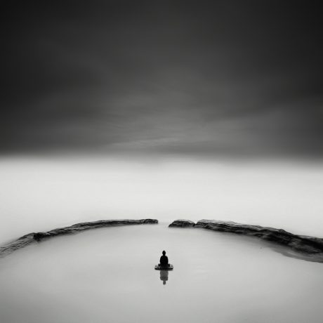 buddha clouds by Nathan Wirth a slice of silence - The Great Highway Gallery