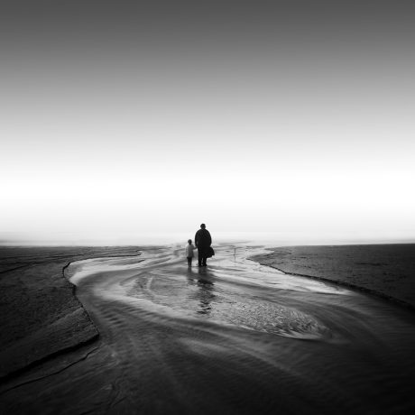 self & daughter by Nathan Wirth a slice of silence - The Great Highway Gallery