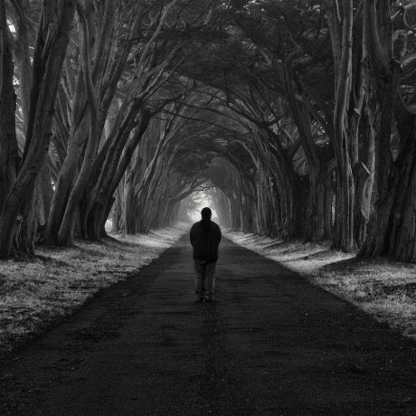 Self Portrait XIII by Nathan Wirth a slice of silence - The Great Highway Gallery