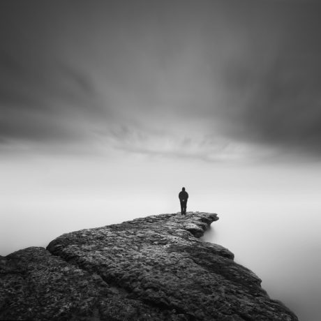 Nself & rock II by Nathan Wirth a slice of silence - The Great Highway Gallery