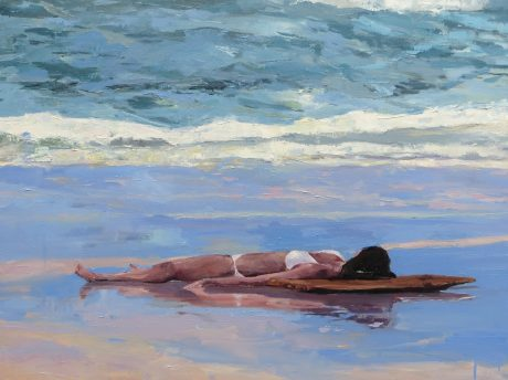 woman on the beach Sonja Navin