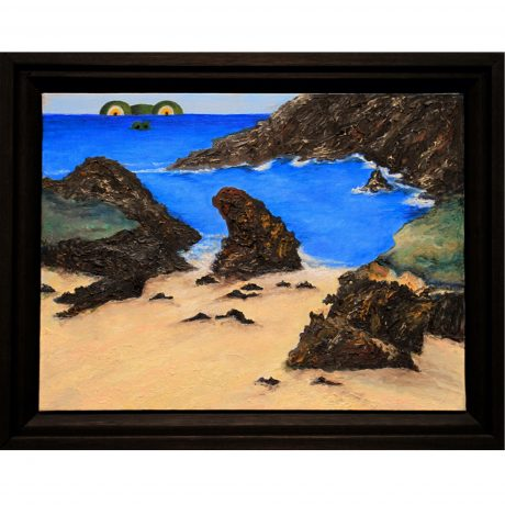 Ned_Evans-Private Beach 15x19